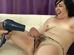 Horny slut gets pounded hard in her natural Pussy