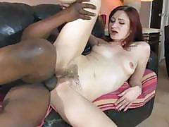 Sexy Redhead Gets Her Pussy Banged By A BBC