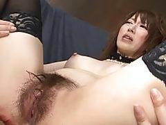 JAPAN HD Squirting Japanese Pornstar gets a Creamp
