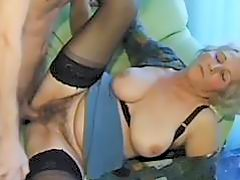 Old amateur mature wife sucks and fucks with cum