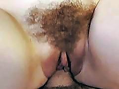 Pretty stepsis banged in her hairy twat